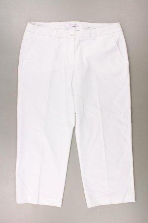 Gerry Weber Hose Größe 40 weiß aus Polyester