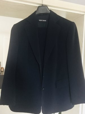 Gerry Weber Hosenanzug, klassischer Style, Bügelfaltenhose, Größe 44, schwarz