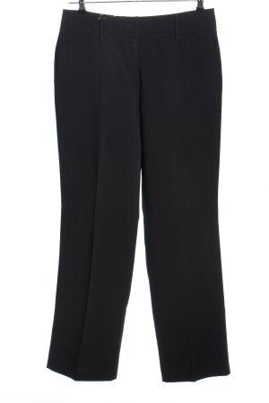 Gerry Weber Lage taille broek zwart zakelijke stijl