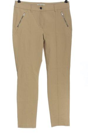Gerry Weber pantalón de cintura baja blanco puro look casual