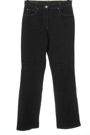 Gerry Weber Jeansy z prostymi nogawkami czarny W stylu casual