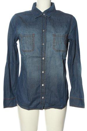 Gerry Weber Jeansowa koszula niebieski W stylu casual