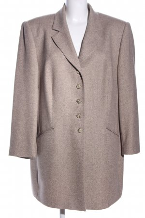 Gerry Weber Jerseyblazer braun meliert Business-Look