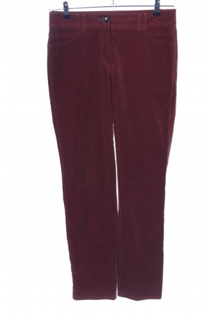 Gerry Weber Peg Top Trousers red casual look