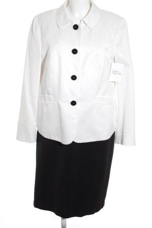 Gerry Weber Kostüm dunkelblau-weiß klassischer Stil