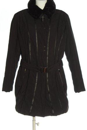 Gerry Weber Kurtka zimowa czarny W stylu casual