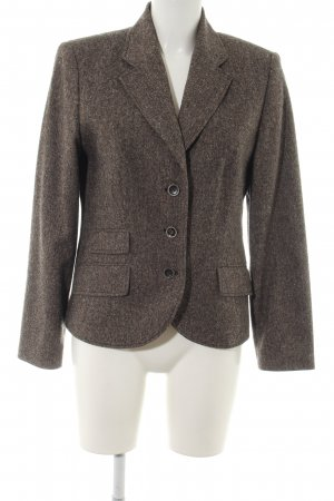 Gerry Weber Kurz-Blazer braun meliert Business-Look