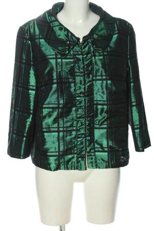 Gerry Weber Short Blazer green-black check pattern casual look