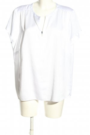 Gerry Weber Short Sleeved Blouse white business style