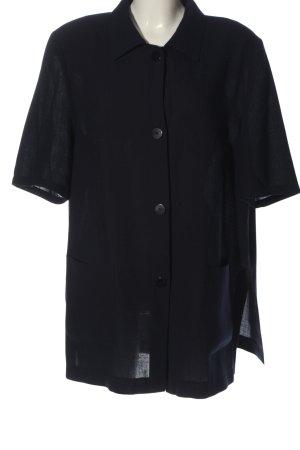 Gerry Weber Camisa de manga corta negro estilo «business»