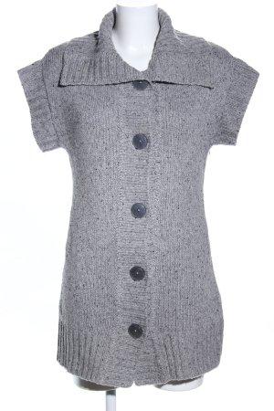 Gerry Weber Cardigan a maniche corte grigio chiaro Tessuto misto
