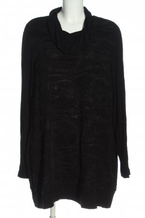 Gerry Weber Langarm-Bluse schwarz abstraktes Muster Casual-Look