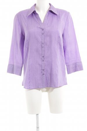 Gerry Weber Langarm-Bluse lila Casual-Look