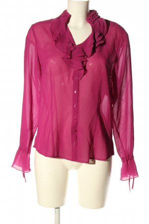 Gerry Weber Langarm-Bluse pink Business-Look