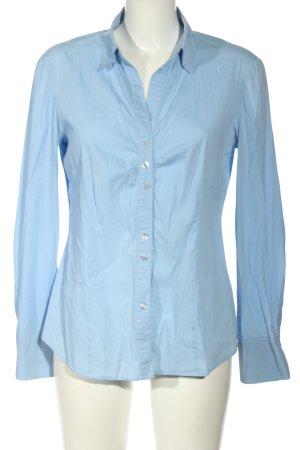 Gerry Weber Langarmhemd blau Business-Look