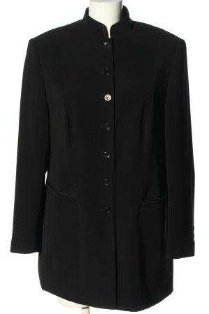 Gerry Weber Długa kurtka czarny W stylu casual