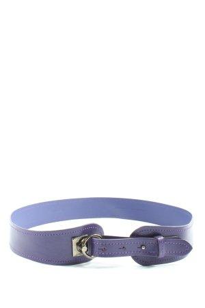 Gerry Weber Cinturón de cuero lila elegante