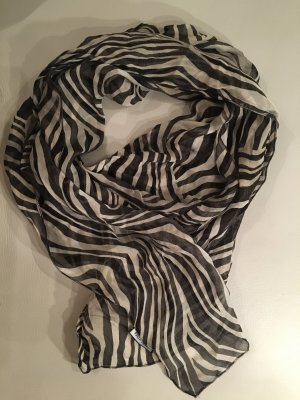 Gerry Weber Silk Scarf white-black