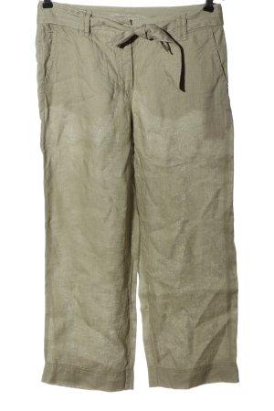 Gerry Weber Linen Pants khaki elegant