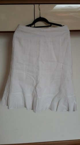 Gerry Weber Falda de lino blanco Lino