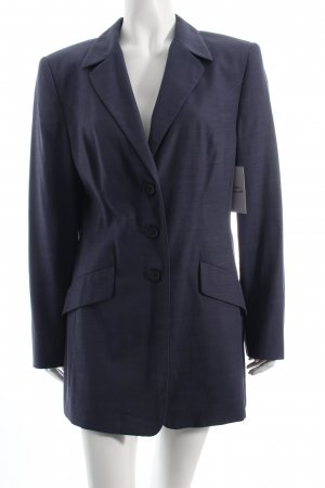 Gerry Weber Long-Blazer dunkelblau Business-Look