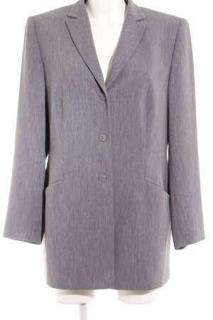 Gerry Weber Long-Blazer grau meliert Business-Look