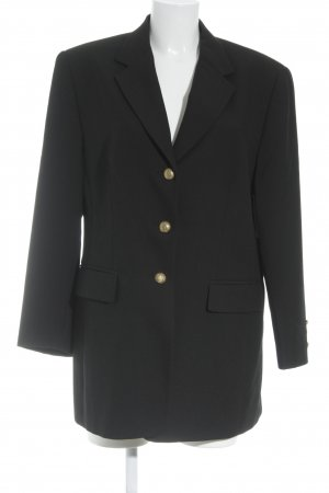 Gerry Weber Blazer long noir-doré style d'affaires