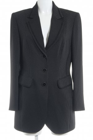 Gerry Weber Long-Blazer schwarz-weiß Business-Look