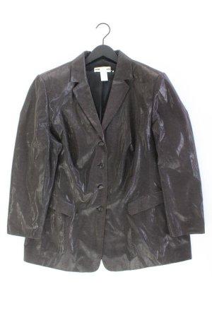 Gerry Weber Lange blazer zwart Polyester