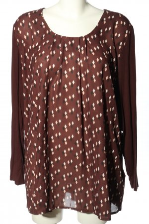 Gerry Weber Longsleeve grafisches Muster Casual-Look