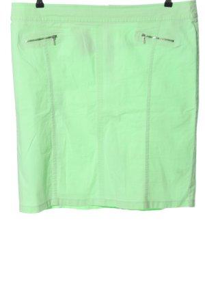 Gerry Weber Mini rok groen casual uitstraling