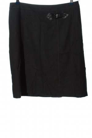 Gerry Weber Mini rok zwart gestippeld casual uitstraling