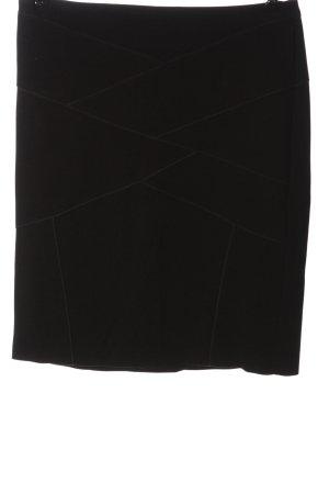Gerry Weber Mini rok zwart casual uitstraling