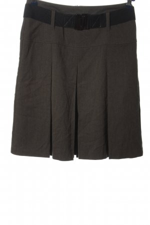 Gerry Weber Mini rok bruin-zwart casual uitstraling