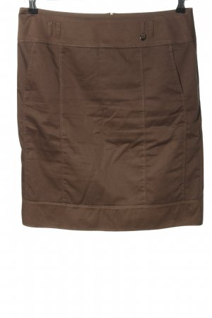 Gerry Weber Mini rok bruin zakelijke stijl