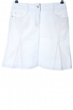 Gerry Weber Mini rok wit casual uitstraling