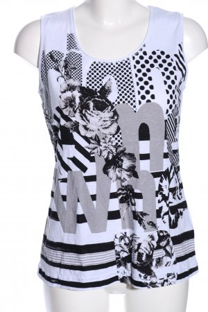 Gerry Weber Muscle Shirt themed print casual look