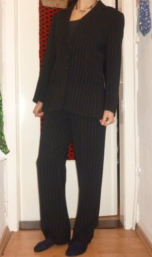 Gerry Weber Pinstripe Suit black