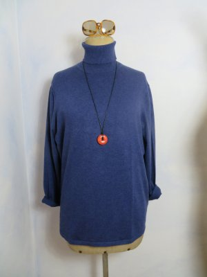 Gerry Weber Turtleneck Sweater blue viscose