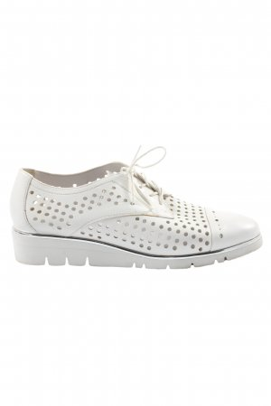 Gerry Weber Scarpa Oxford bianco stile casual