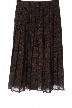Gerry Weber Pleated Skirt abstract pattern casual look