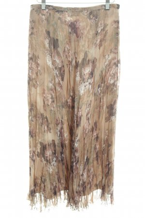 Gerry Weber Pleated Skirt flower pattern casual look