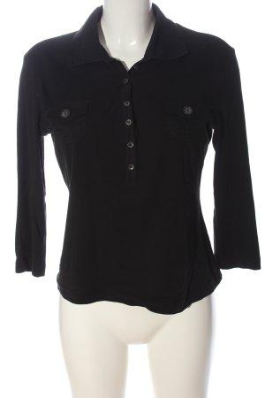 Gerry Weber Polo Shirt black casual look