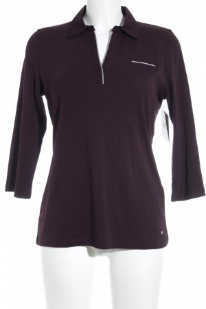 Gerry Weber Polo Top brombeerrot Casual-Look