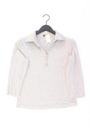 Gerry Weber Poloshirt Größe 38 3/4 Ärmel grau
