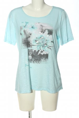 Gerry Weber Print-Shirt türkis Motivdruck Casual-Look