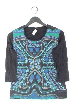 Gerry Weber Printshirt Größe 38 3/4 Ärmel mehrfarbig aus Baumwolle