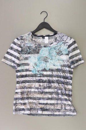 Gerry Weber Printshirt Größe M gestreift Kurzarm mehrfarbig