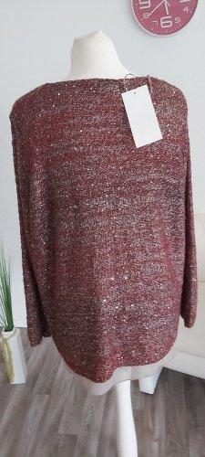 Gerry Weber Crewneck Sweater dark red-brick red