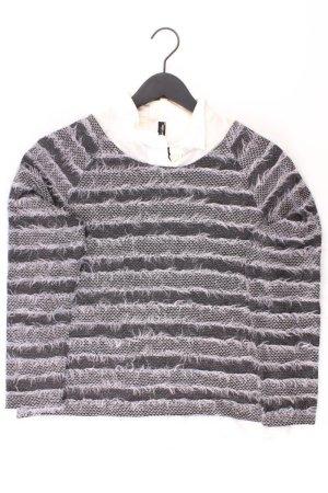 Gerry Weber Pullover Größe 42 grau aus Polyester